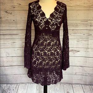 Diane Von Furstenberg💋Thick Lace Dress